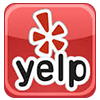 Follow us on Yelp
